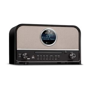 RADIO CD CASSETTE auna Columbia Dab Radio - Bluetooth-Radio, Lecteur