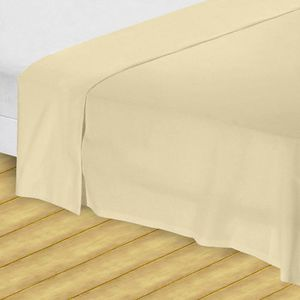drap plat 2 personnes 100 coton achat vente drap plat. Black Bedroom Furniture Sets. Home Design Ideas