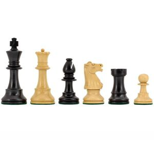 Conquest Series Noir et acajou Chess Set