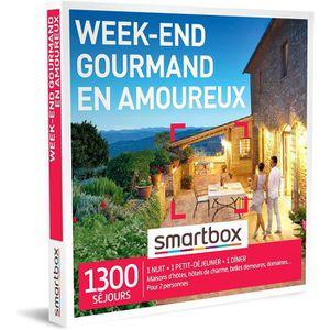 COFFRET SÉJOUR SMARTBOX - Coffret Cadeau couple - Week-end gourma