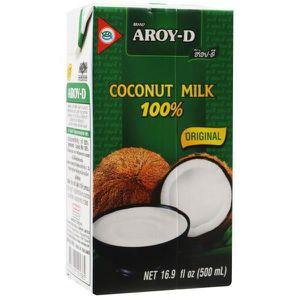 HUILE - LAIT MASSAGE Aroy-D Lait de coco 500ml Produit importé de Thaïl