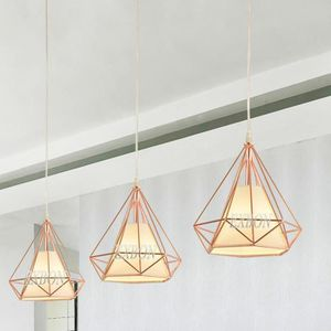 LUSTRE ET SUSPENSION EXBON Plafonnier Lustre Suspension Cage Diamant E2