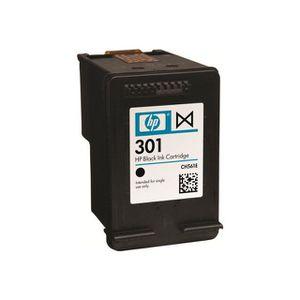 CARTOUCHE IMPRIMANTE HP - 301 - Cartouche d'encre d'origine - Noir