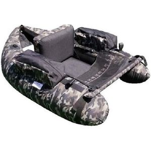 BARQUE DE PÊCHE LINEAEFFE Float Tube Belly Boat - Coloris camoufla