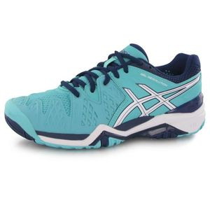 wholesale dealer 8b5a2 1361a Asics Gel Resolution 6 L bleu, chaussures de tennis femme