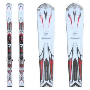 SKI Ski occassion Rossignol Pursuit 16 Blanc rouge + f