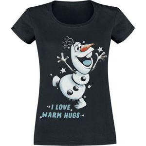 T-SHIRT La Reine Des Neiges Olaf - I Love Warm Hugs T-Shir