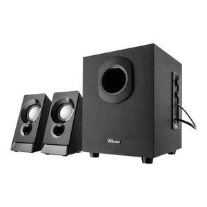 ENCEINTES ORDINATEUR TRUST Argo 2.1 Speaker Set - Enceintes 2.1 - 18W -
