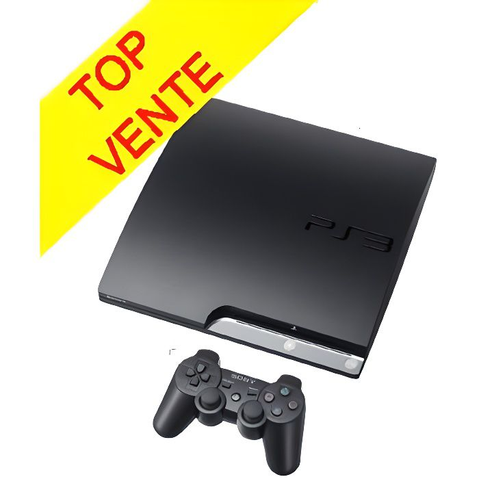 console ps3 160 go noire console ps3 achat vente. Black Bedroom Furniture Sets. Home Design Ideas