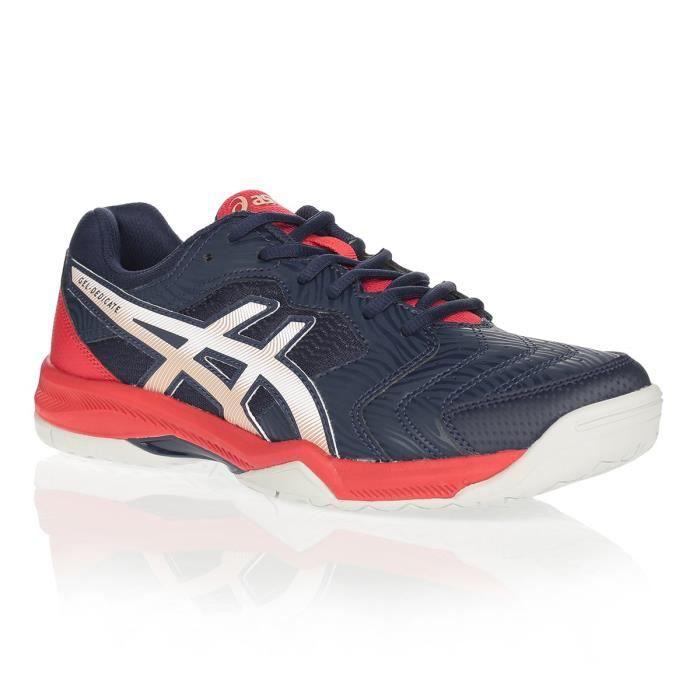 ASICS Chaussures de tennis Gel-Dedicate 6 - Homme - Marine