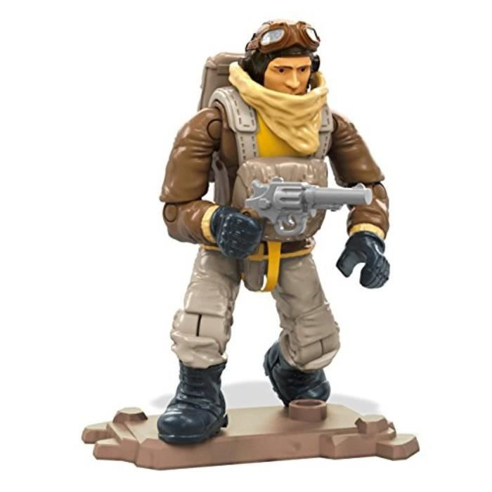 Jeu D'Assemblage UW0AZ FMG03 Call of Duty WW2 Pilot Set de construction