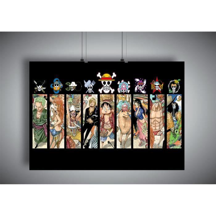 Poster One Piece Wall Art Manga - A3 (42x29,7cm)
