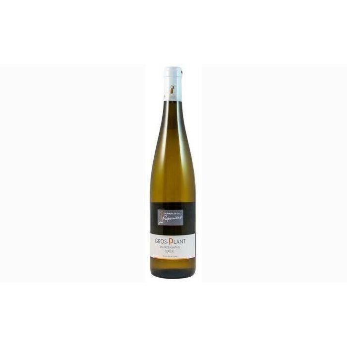 6 bouteilles - Vin blanc - Tranquille - Domaine de la Papinière Gros Plant du Pays Nantais sur lie Blanc 2018 6x75cl