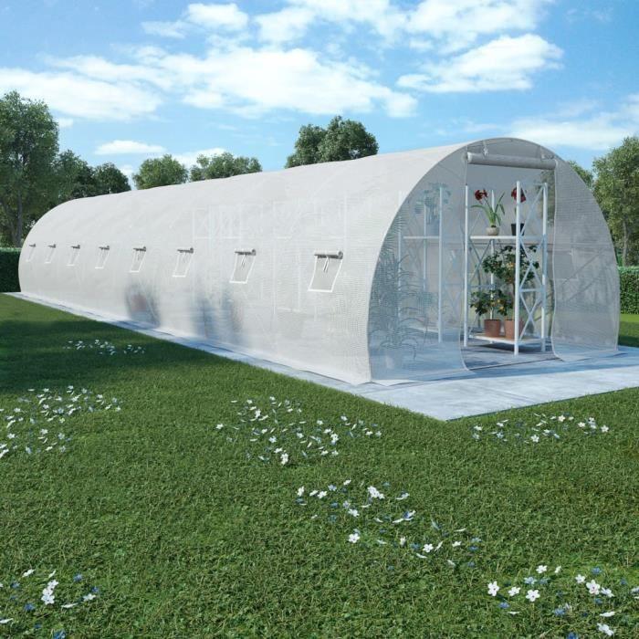Décor🍓Bonne qualité - Serre de Jardin Serre à tomates- SERRE DE JARDINAGE Balcon Terrasse - Tunnel serre de jardin 36 m² 12003012
