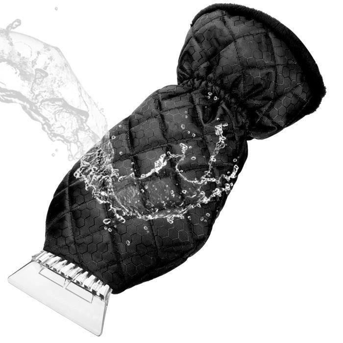 MATCC Épaissir Gant de Grattoir Glace Voiture Pare-brise Pelle à Neige Étanche L12328