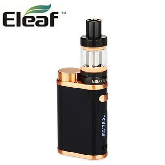 CO Eleaf iStick Pico 75W Kit 4ml Melo III atomizer + 18650 Accu Cigarette électronique
