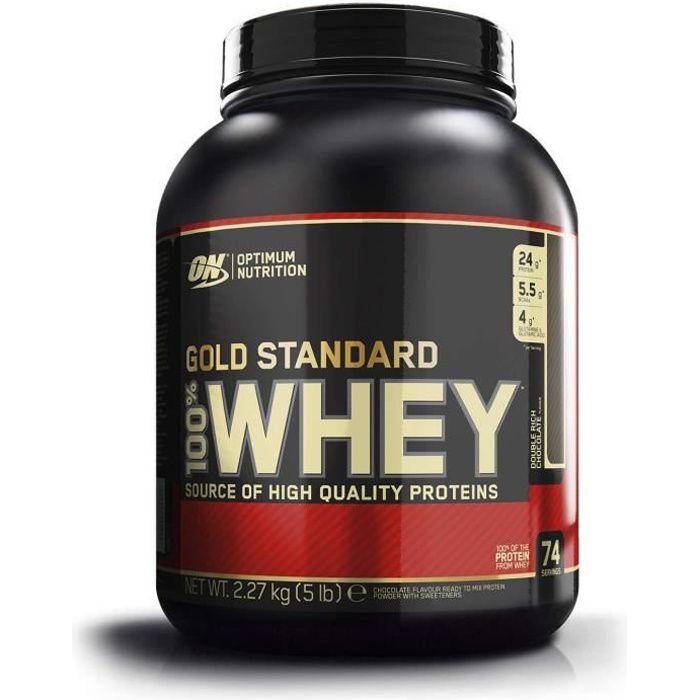 Sacs à dos Optimum Nutrition Gold Standard 100% Whey Protéine en Poudre avec Whey Isolate, Proteines Musculation Prise d 17673