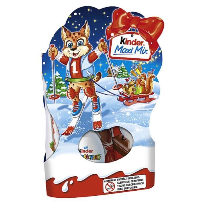 Ferrero Kinder Maxi Mix Noël 153g