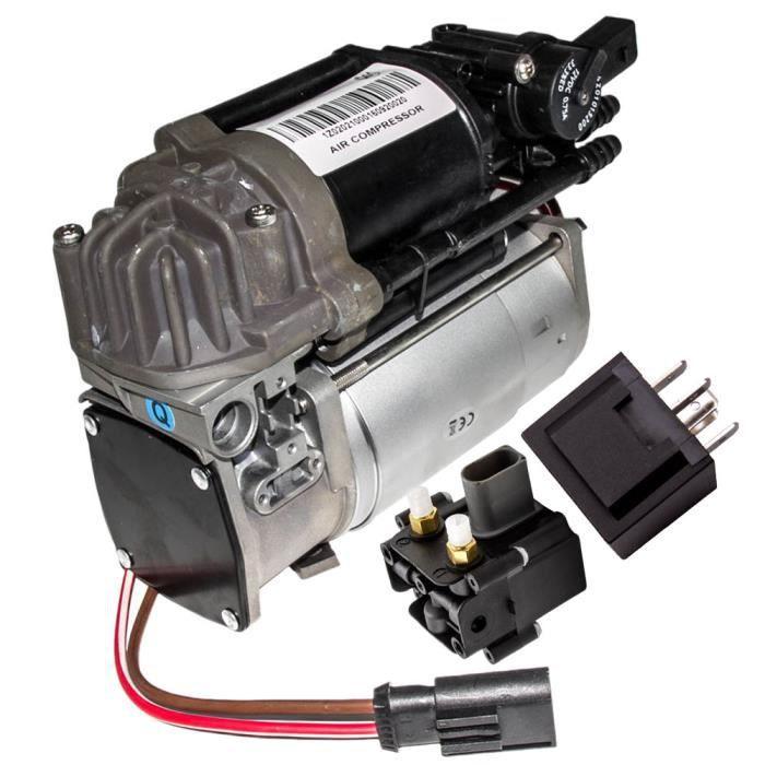 Suspension compresseur d'air + relais pour BMW 5/7 F01 F02 F04 F07 GT F11 F11N