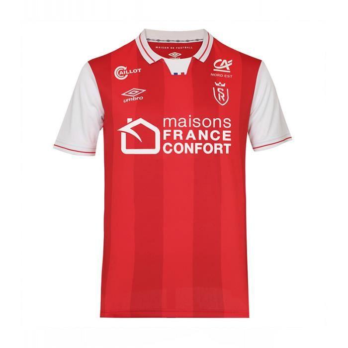 Maillot domicile Stade de Reims 2021/22 - rouge/blanc - XL