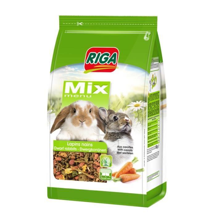 RIGA Menu Mix - 900 g - Lapins nains