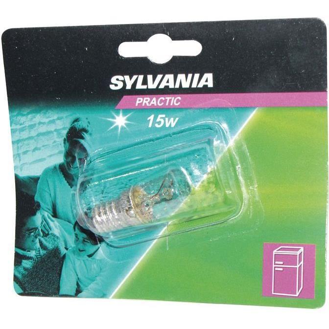 SYLVANIA Tube à incandescence pour Réfrigérateur - E14 - 15 W