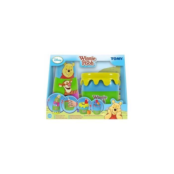Mon pot de miel 4 en 1 Winnie the Pooh Disney - Eveil bebe 6-24 M