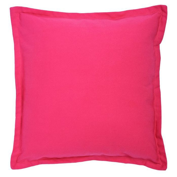 united coussin fushia 40 x 40 cm achat vente coussin. Black Bedroom Furniture Sets. Home Design Ideas
