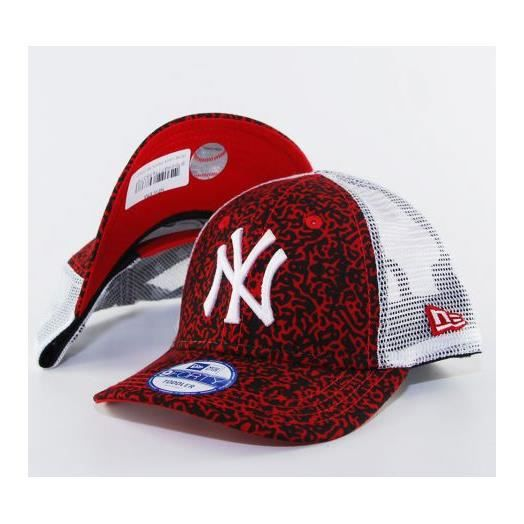 casquette trucker b b new era lava ny yankees rouge toddler achat vente casquette. Black Bedroom Furniture Sets. Home Design Ideas