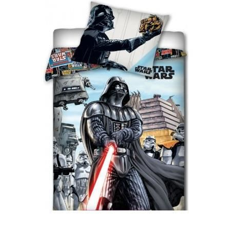 parure de lit star wars 160 x 200 achat vente parure. Black Bedroom Furniture Sets. Home Design Ideas