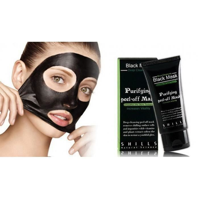 black mask shills masque anti point noir acne achat vente fond de teint base black mask. Black Bedroom Furniture Sets. Home Design Ideas