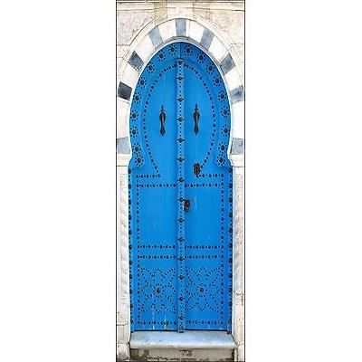 Sticker pour porte trompe l oeil d coration int rieure for Decoration porte orientale
