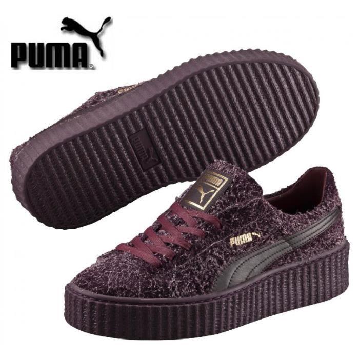 chaussures puma femme bordeaux