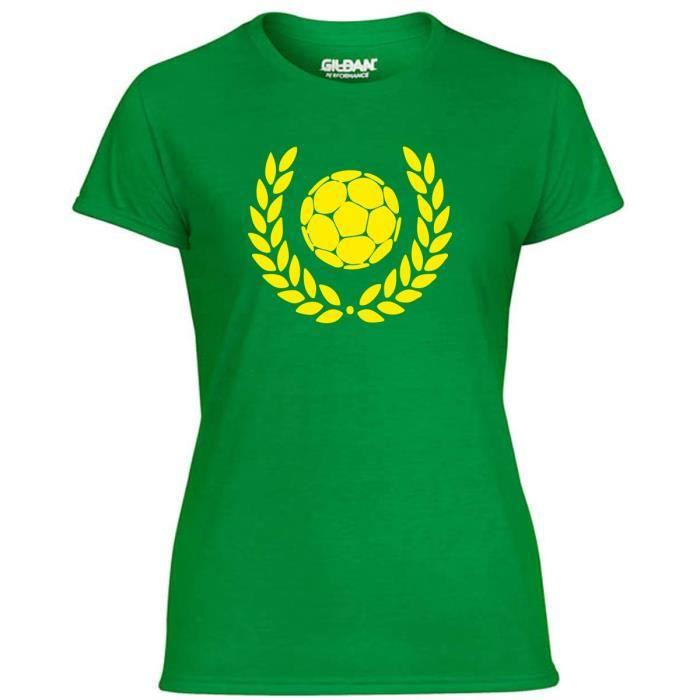 T-SHIRT T-shirt Femme WC1209 Football Is The Best Magliett