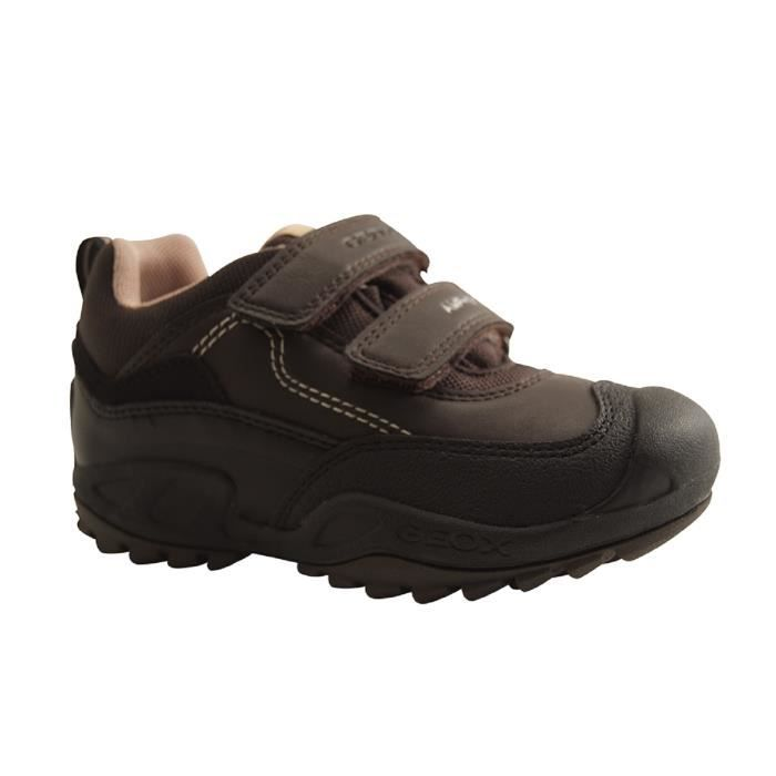 GEOX Enfants-J N SAVAGE B B-TRAINING VELCRO-BRUN HTeJR