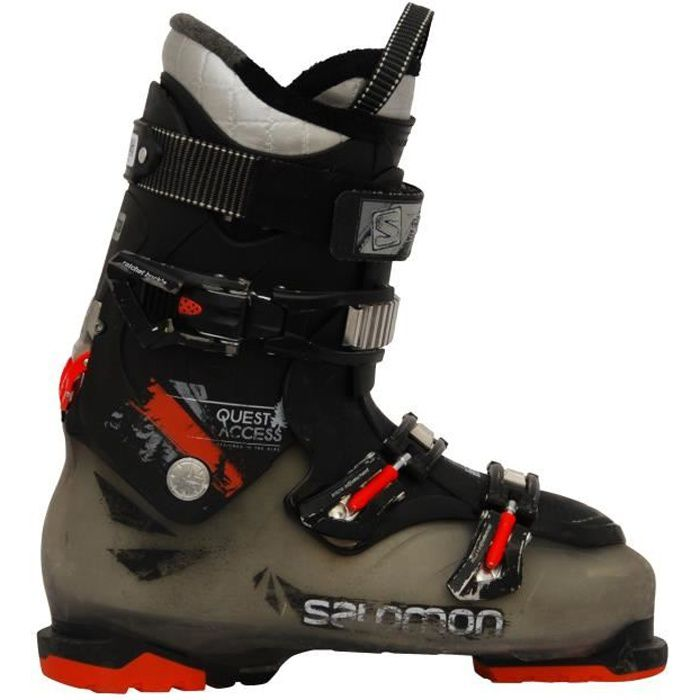 Chaussures de ski Salomon Quest access 880770 translucideorange