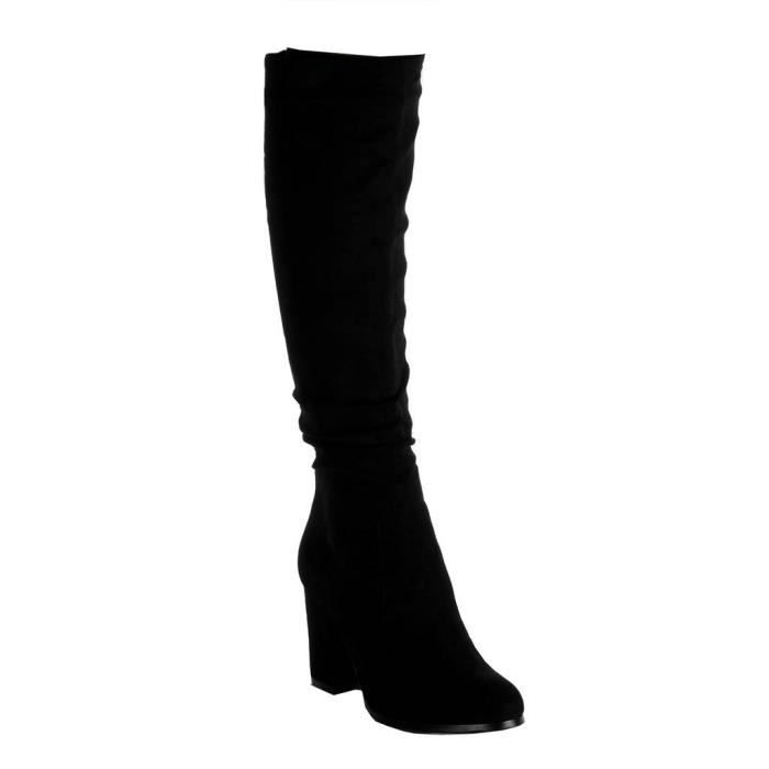 BOTTE Angkorly - Chaussure Mode botte cavalier femme Tal