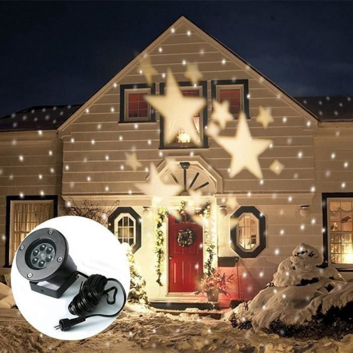 Lumi re d 39 toile led tanche pour d cor ext rieur for Lumiere exterieur noel