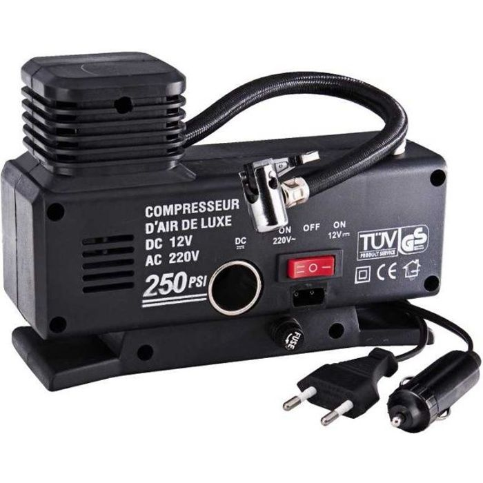 COMPRESSEUR AUTO MINI COMPRESSEUR 12-220 VOLTS