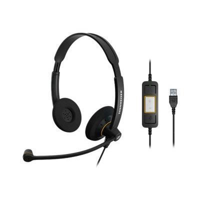 Kit piéton Sennheiser SC 60 USB ML - Call Center - casque - …