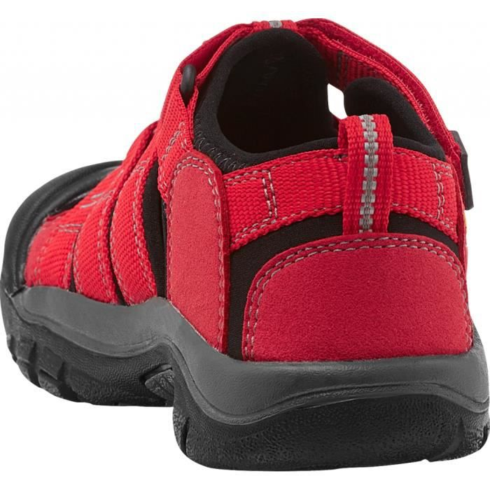 Keen Newport H2 - Tongs Enfant - rouge/noir