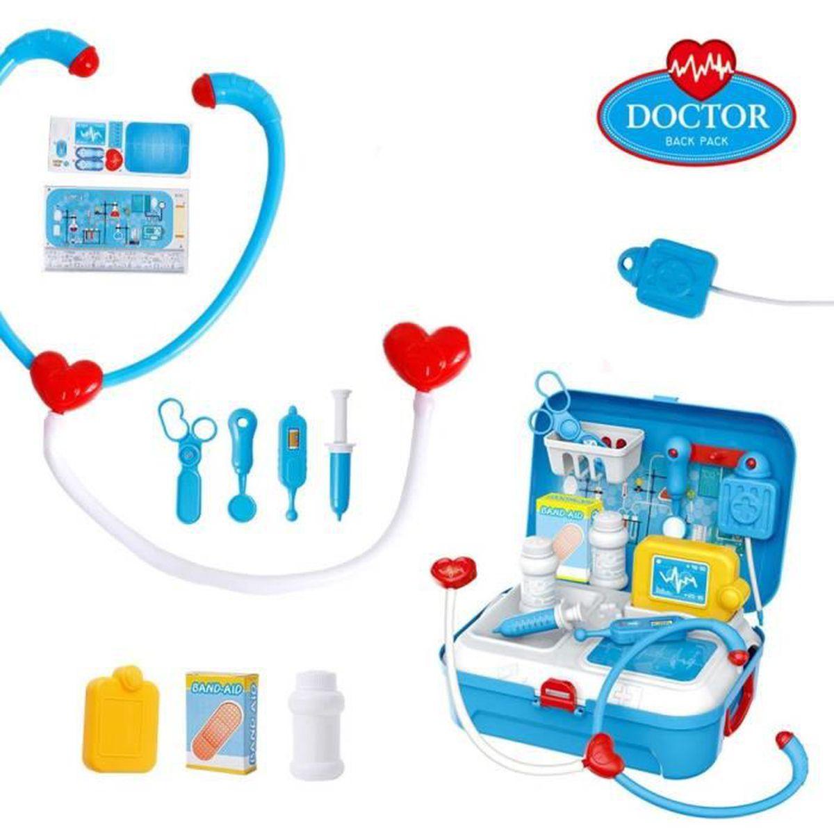 Jeux DImitation Jouet Docteur Enfant Enfants Jouets Docteur Kit Dentiste M/édical Outils Roleplay Pour Les Enfants De No/ël Cadeaux De Vacances
