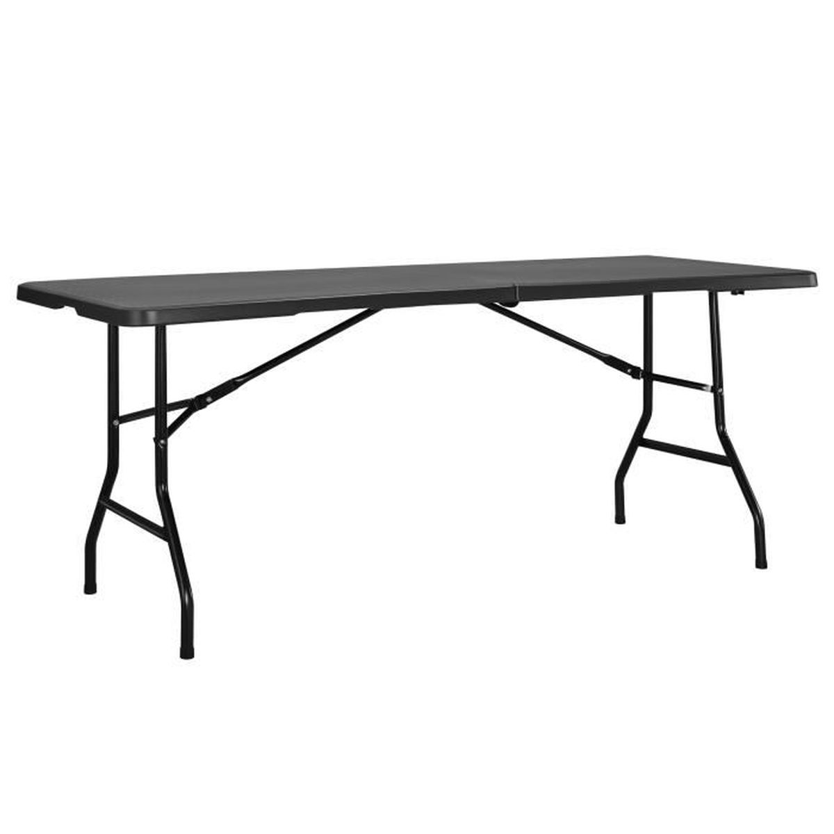 table de jardin gris anthracite achat vente table de jardin gris anthracite pas cher cdiscount. Black Bedroom Furniture Sets. Home Design Ideas