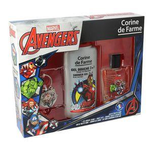 COFFRET CADEAU PARFUM CORINE DE FARME Coffret Avengers eau de toilette 5