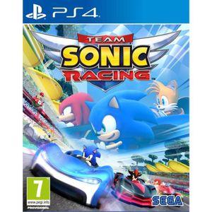 JEU PS4 Team Sonic Racing Jeu PS4