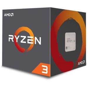 PROCESSEUR AMD YD1200BBAEBOX Processeur AMD Ryzen 4 cœurs SAT