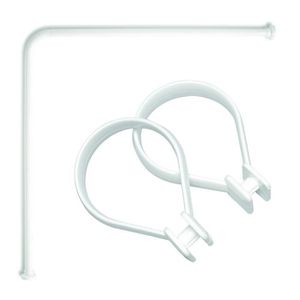 tringle angle achat vente tringle angle pas cher cdiscount. Black Bedroom Furniture Sets. Home Design Ideas