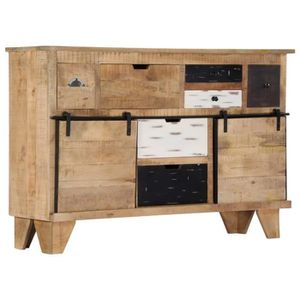 BUFFET - BAHUT  Buffet bahut armoire console meuble de rangement 1
