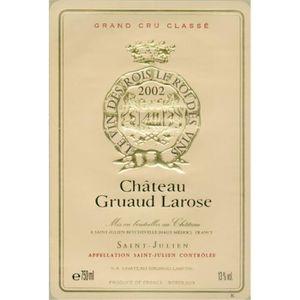 VIN ROUGE Château Gruaud Larose - Saint-Julien 2002 2ème Cru