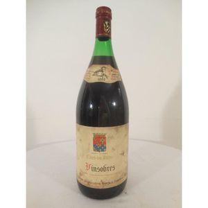 VIN ROUGE magnum 150cl vinsobre cave du prieuré rouge 1982 -